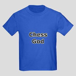 Chess God Kids Dark T-Shirt