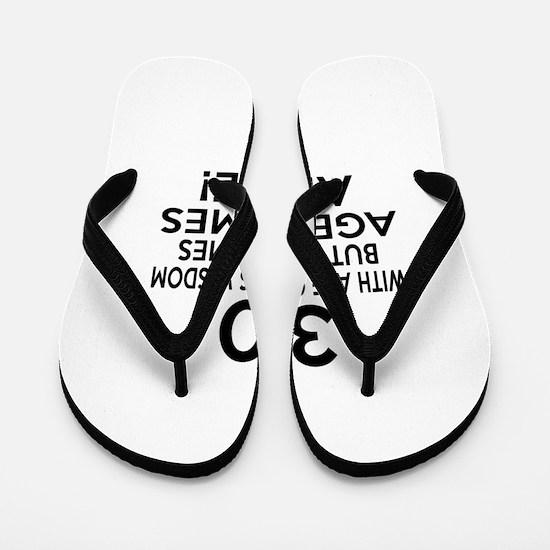30 Awesome Birthday Designs Flip Flops