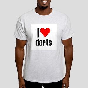 I love darts Light T-Shirt