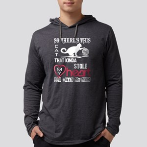 This Cat Stole My Heart T Shir Long Sleeve T-Shirt