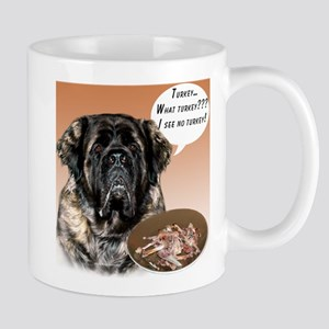 Mastiff fluffy Turkey Mug