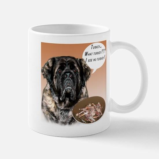 Mastiff fluffy Turkey Mug