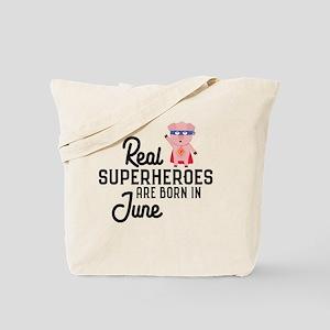 Superheroes are born in June C231x Tote Bag