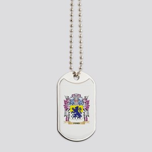 Ford Coat of Arms (Family Crest) Dog Tags