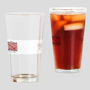 Navy Jack Drinking Glass