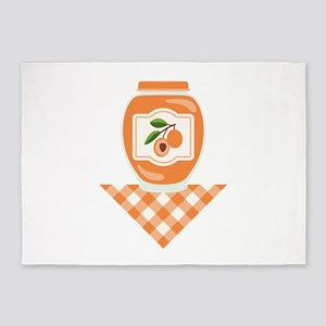 Apricot Jam 5'x7'Area Rug
