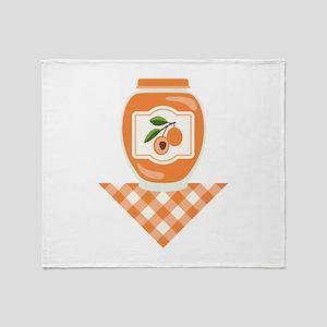 Apricot Jam Throw Blanket