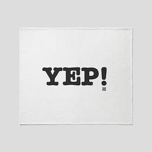 YEP Throw Blanket
