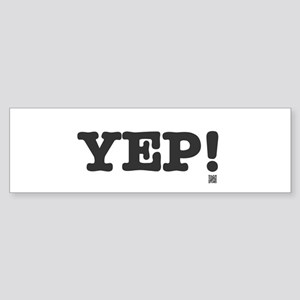 YEP Bumper Sticker