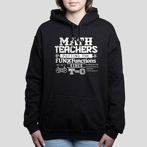 Math Teacher Women's Hooded Sweatshirt