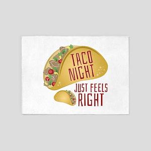 Taco Night 5'x7'Area Rug