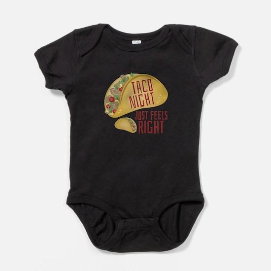 Taco Night Baby Bodysuit