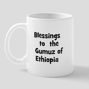 Blessings  to  the  Gumuz of  Mug