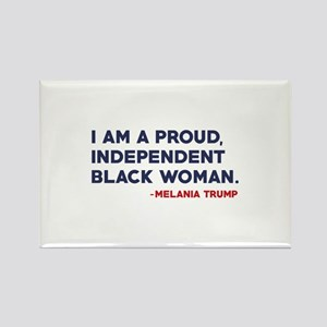 Melania Trump Quote Rectangle Magnet