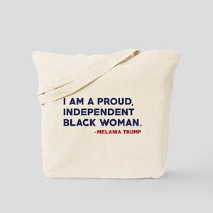 Melania Trump Quote Tote Bag