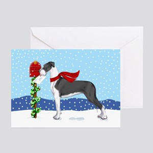 Great Dane Mantle UC Mail Greeting Cards (Pk of 20