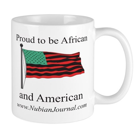 Proud to be African & American! Mug