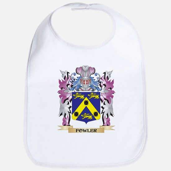 Fowler Coat of Arms (Family Crest) Bib