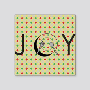Holiday Dinner with Joy Sticker