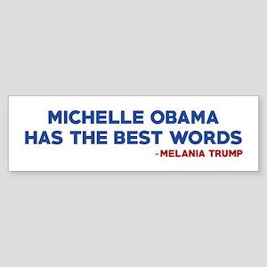 The Best Words Bumper Sticker