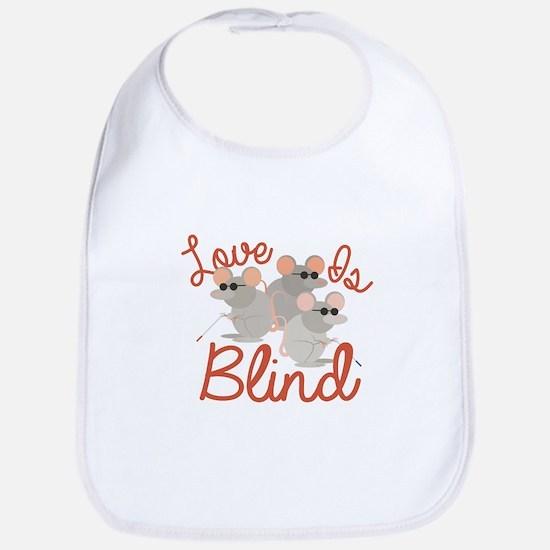 Love Is Blind Bib
