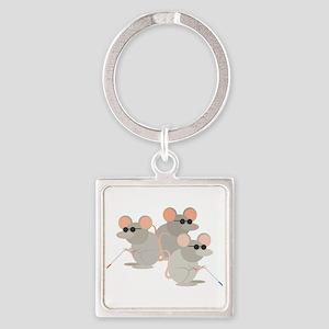 Three Blind Mice Keychains