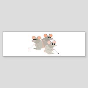 Three Blind Mice Bumper Sticker