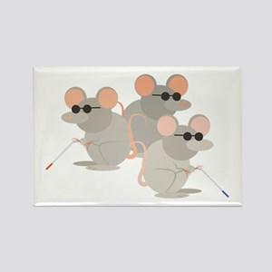 Three Blind Mice Magnets