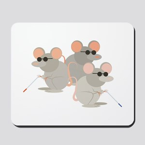 Three Blind Mice Mousepad