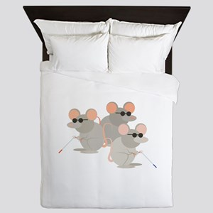 Three Blind Mice Queen Duvet