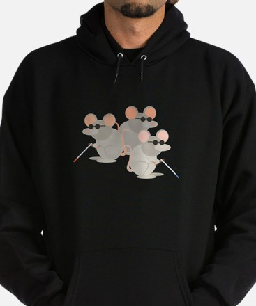 Three Blind Mice Hoodie