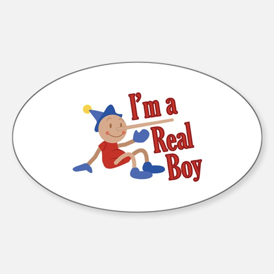 A Real Boy! Decal