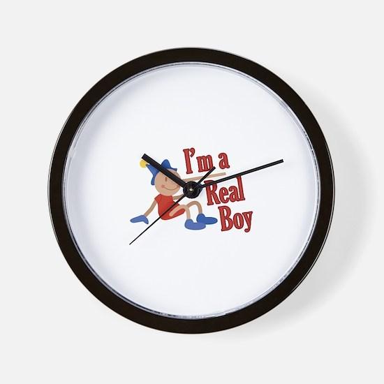 A Real Boy! Wall Clock