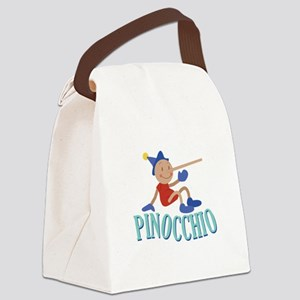 Pinnocchio Canvas Lunch Bag