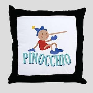 Pinnocchio Throw Pillow