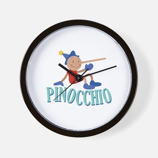 Pinnocchio Wall Clock