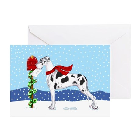 Great Dane Harle UC Mail Greeting Cards (Pk of 20)