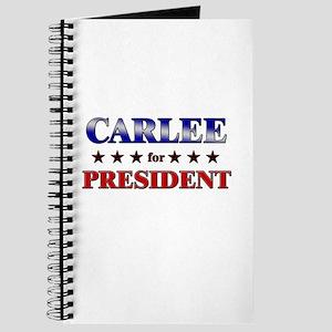 CARLEE for president Journal