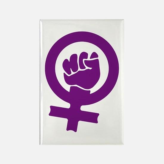 Feminist Power Rectangle Magnet (10 pack)