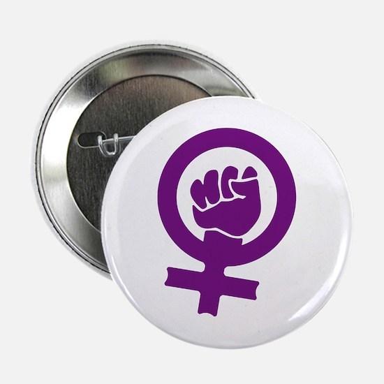 "Feminist Power 2.25"" Button"
