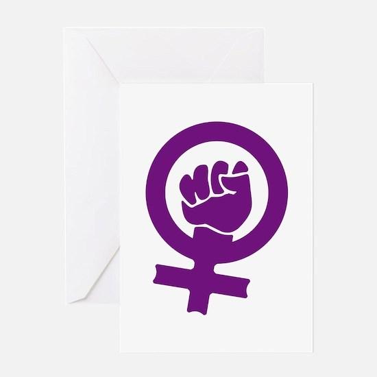 Feminist Power Greeting Card