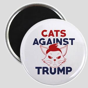 Cats Against Trump Magnet