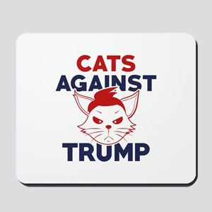 Cats Against Trump Mousepad