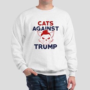 Cats Against Trump Sweatshirt