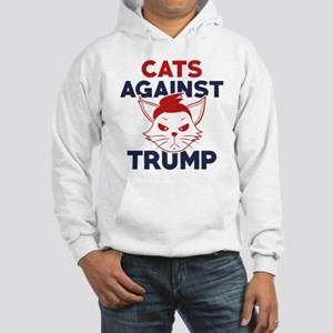 Cats Against Trump Hooded Sweatshirt