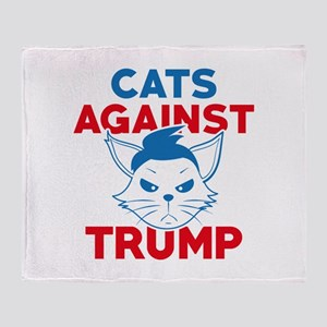 Cats Against Trump Stadium Blanket