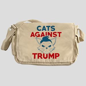 Cats Against Trump Messenger Bag