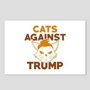 Cats Against Trump Postcards (Package of 8)