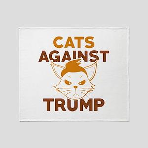 Cats Against Trump Stadium Blanket