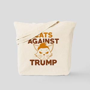 Cats Against Trump Tote Bag